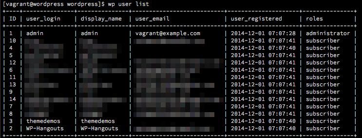 WP-CLIでログインパスワードを再設定