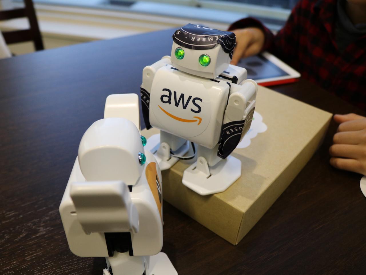 Alexa Day 2018 のロボワークショップに参加してきましたよ