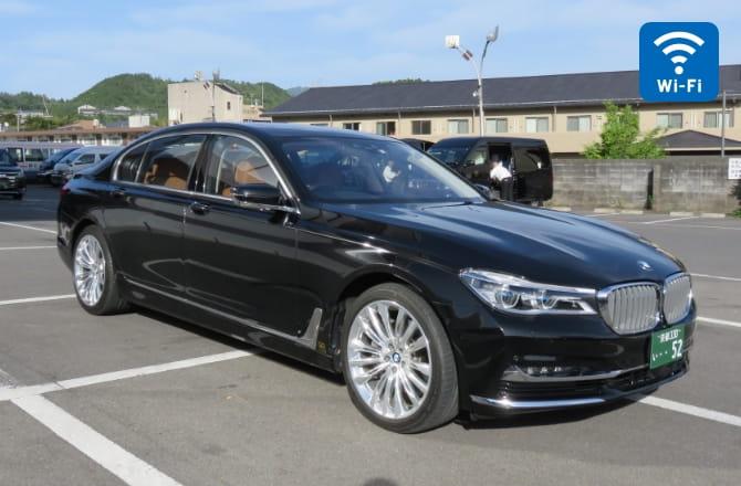BMW 740Ld外観