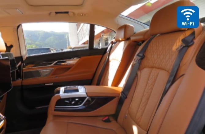 BMW 740Ld内装