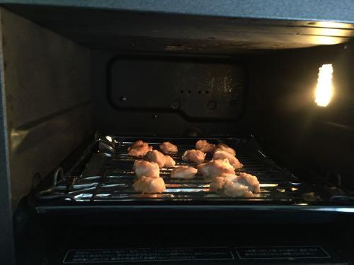ヘルシオで鶏のから揚げ