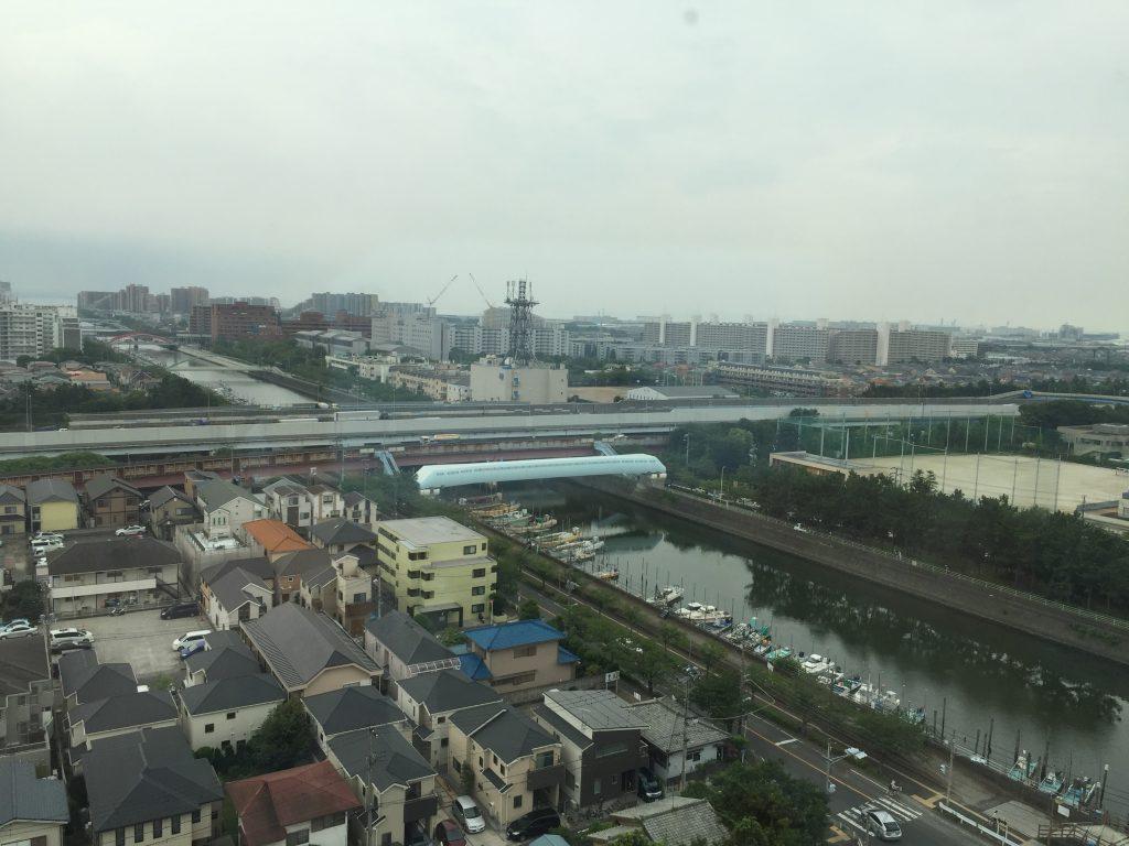 浦安市役所 新庁舎からの眺め