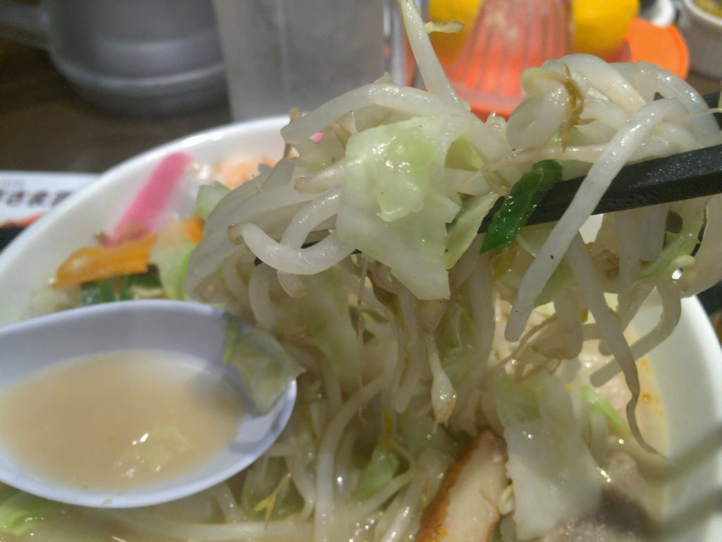 リンガーハット 野菜たっぷり食べるスープ