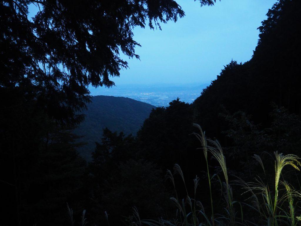 塔ノ岳から大倉バス停