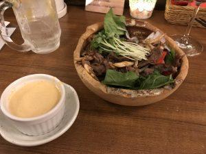 Oobanburumai 焼き肉サラダ