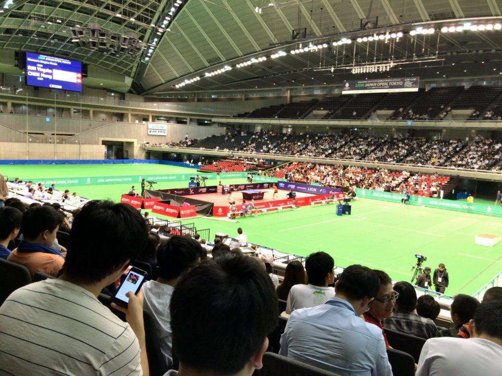 ジャパンオープン卓球 2017