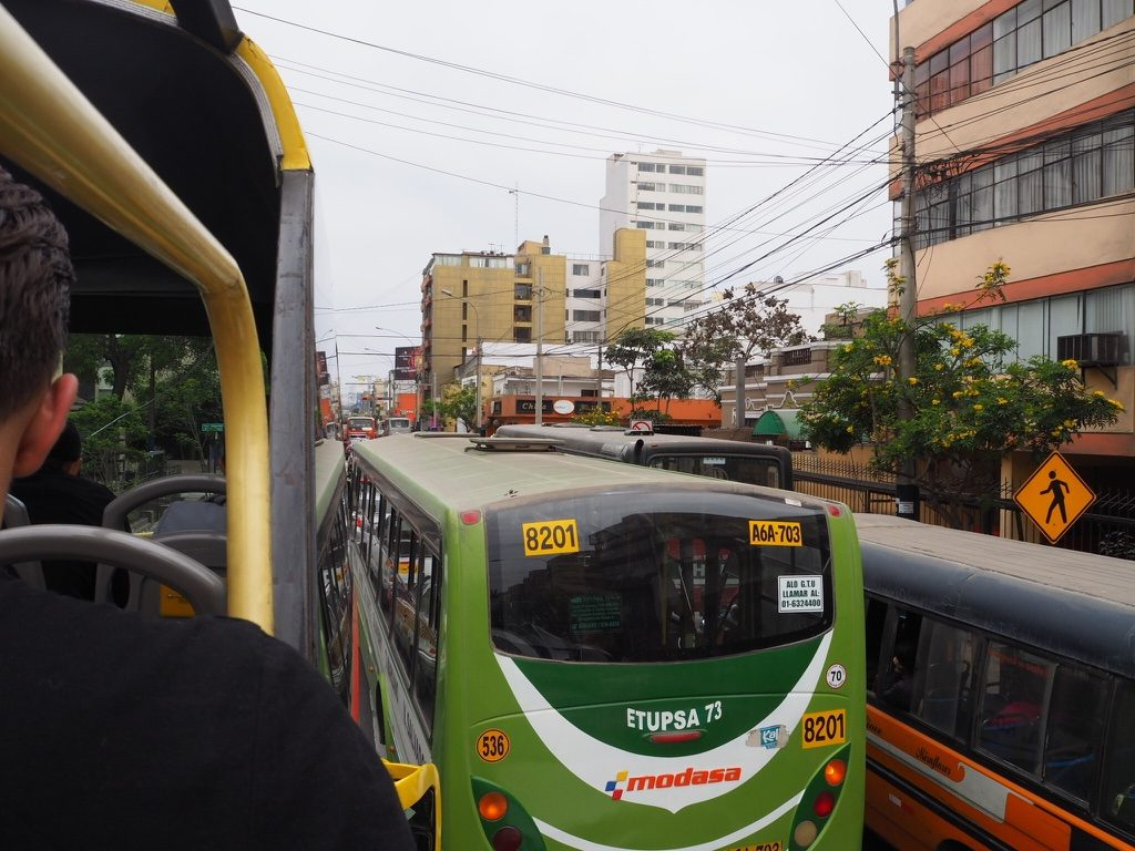 リマ観光 TURI bus