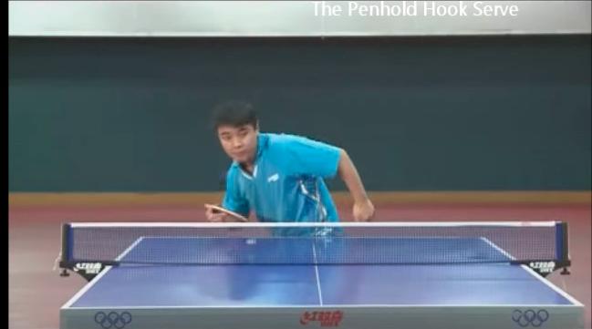 王皓(ワンハオ) Wang Hao 巻き込みサーブ