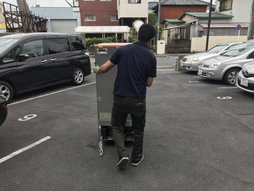 冷蔵庫を浦安リサイクル業者