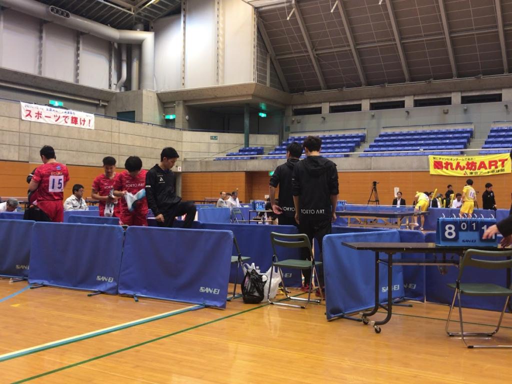 日本卓球リーグ ホームマッチ