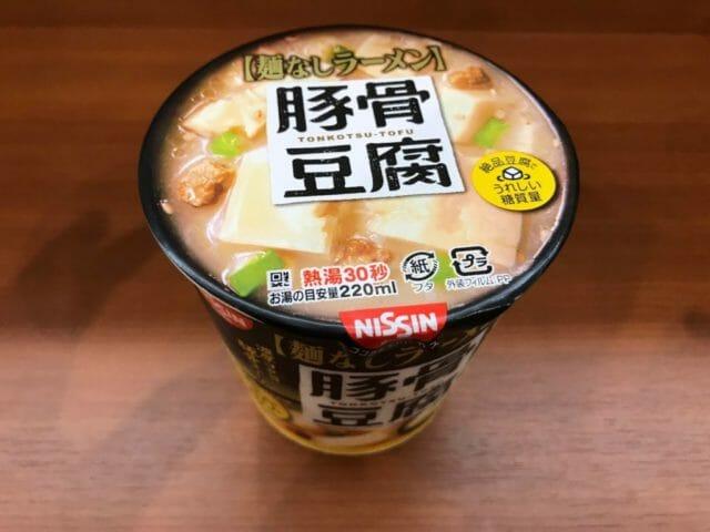 日清 豚骨豆腐