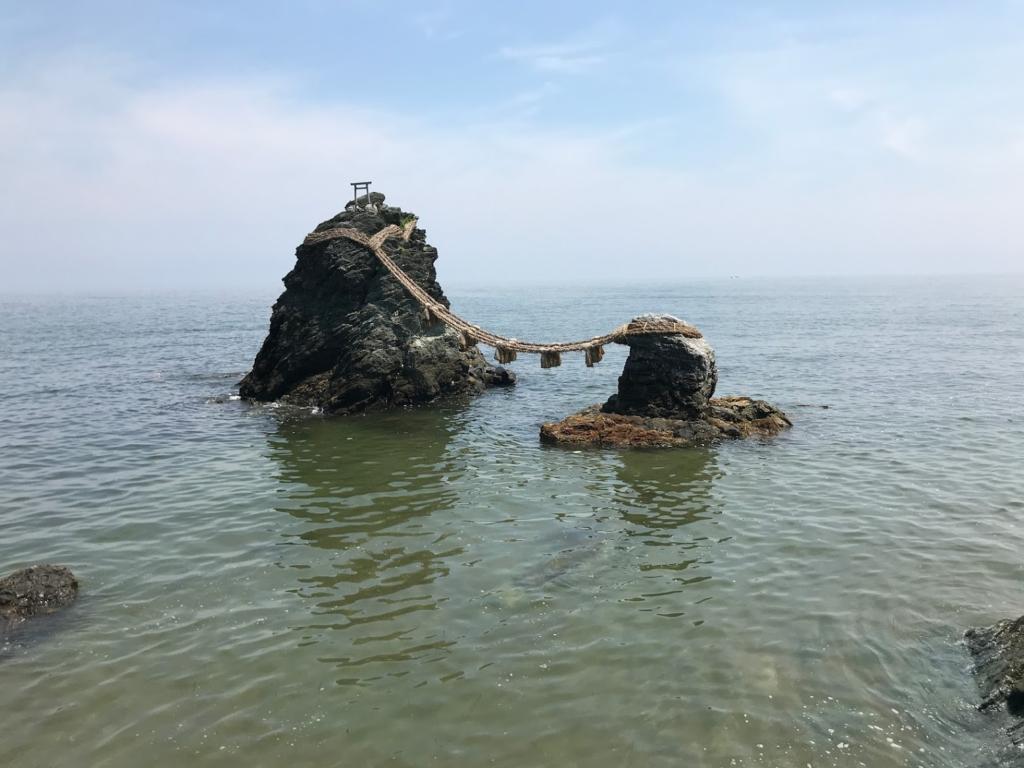 夫婦岩 二見興玉神社
