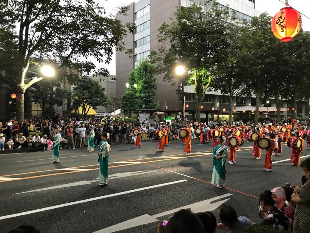 さんさ踊り2018