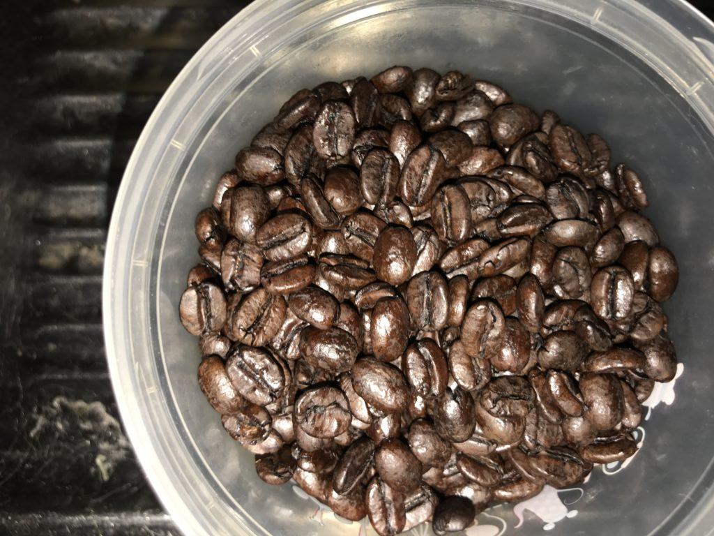 カフェインレスコーヒー豆のまま