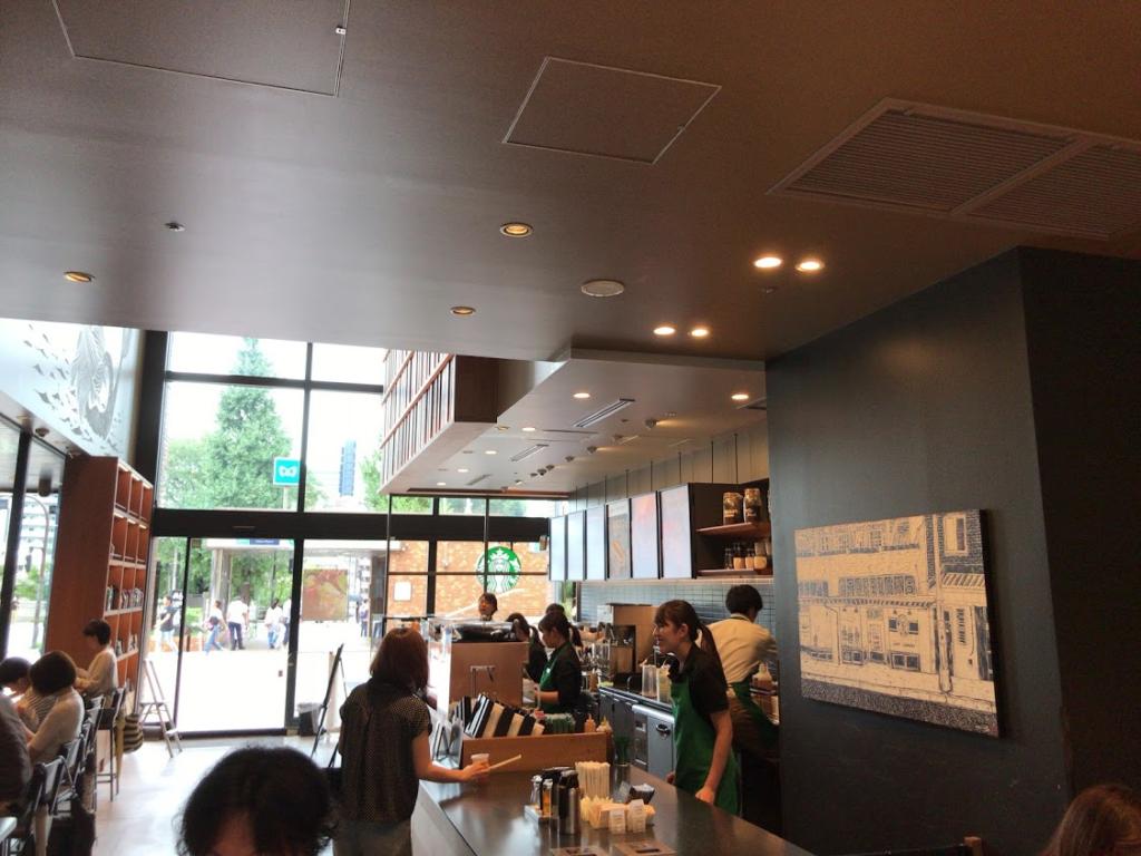 スターバックス お茶の水サンクレール店