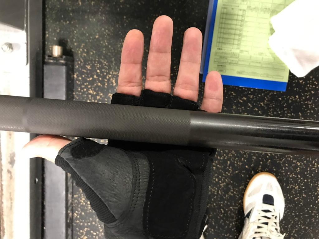 トレーニング手袋
