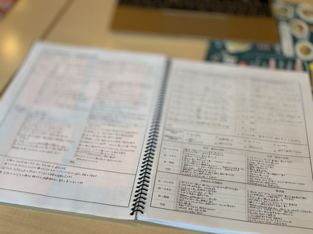 原田メソッド 長期目的目標設定用紙