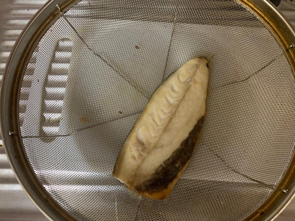 ヘルシオ サバ かんたん焼き