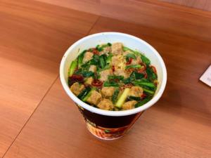 ファミマでライザップ 麻辣湯麺