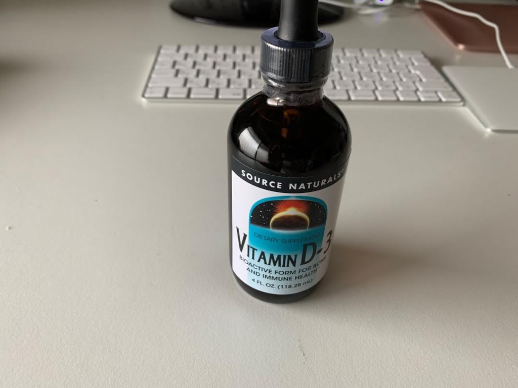 ビタミンD3サプリ Source Naturals リキッドタイプ