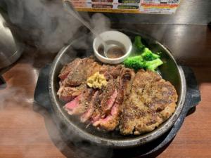 いきなりステーキ トッピングハンバーグ