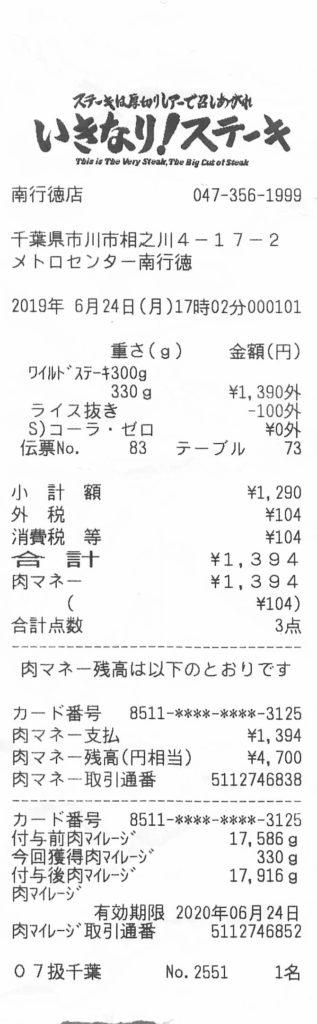 いきなりステーキ増量フェア
