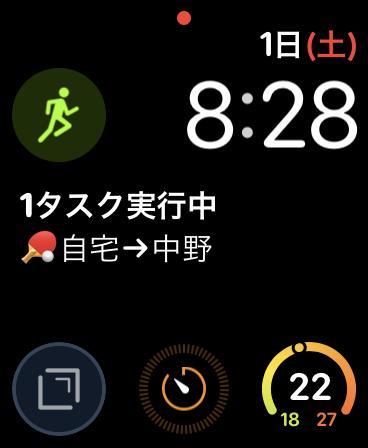 インフォグラフモジュラ Apple Watch
