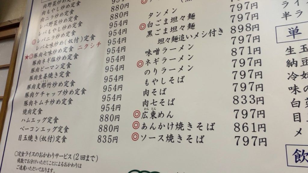 志野 五反田TOC 肉七