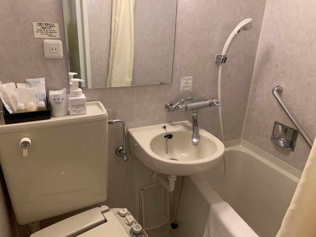 横須賀セントラルホテル バス・トイレ