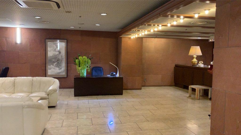 横須賀セントラルホテル フロント