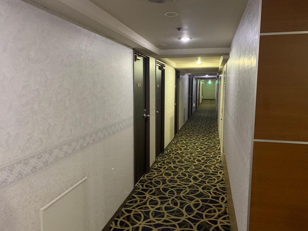 横須賀セントラルホテル 客室フロア