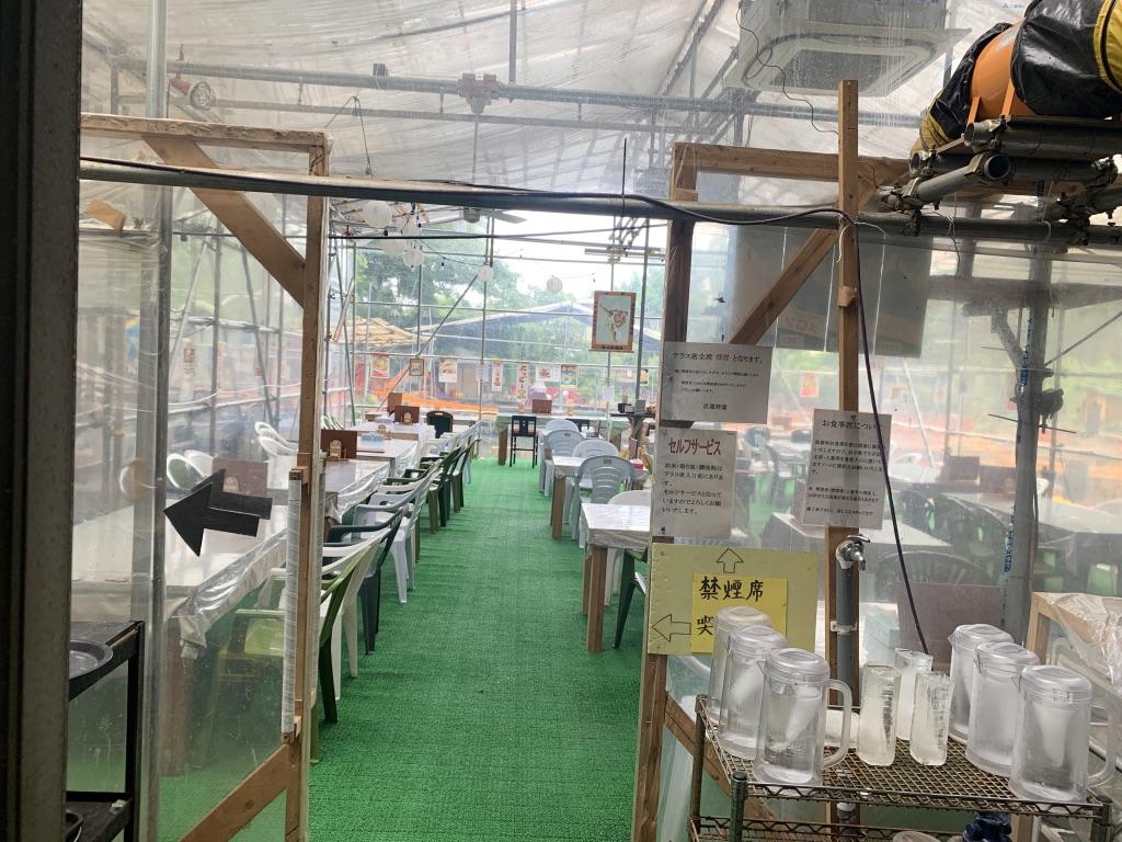 武蔵野園 食堂