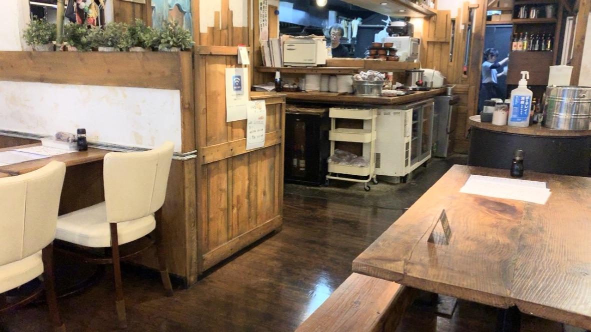 食堂はなび 浦安 店内