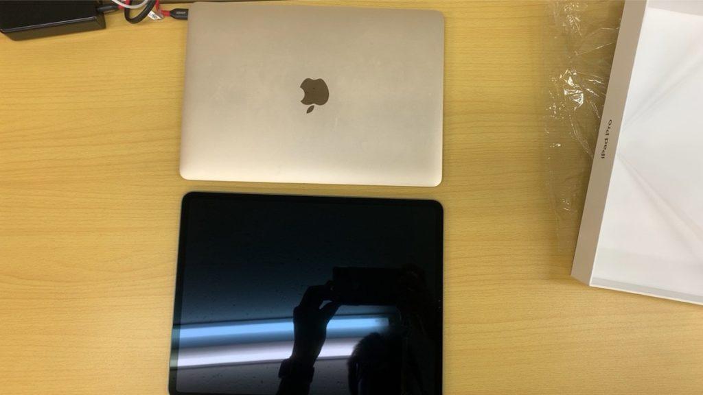 iPad Pro 12.9インチとApple Pencil第2世代 開封の儀