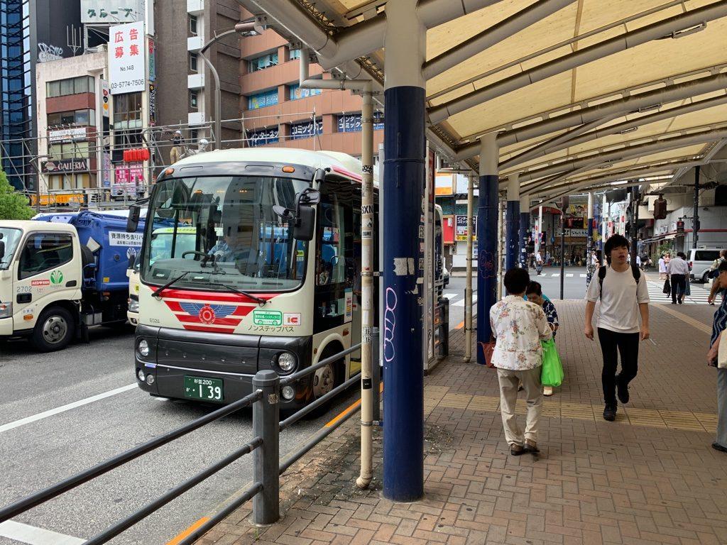 高円寺から永福町行きバス