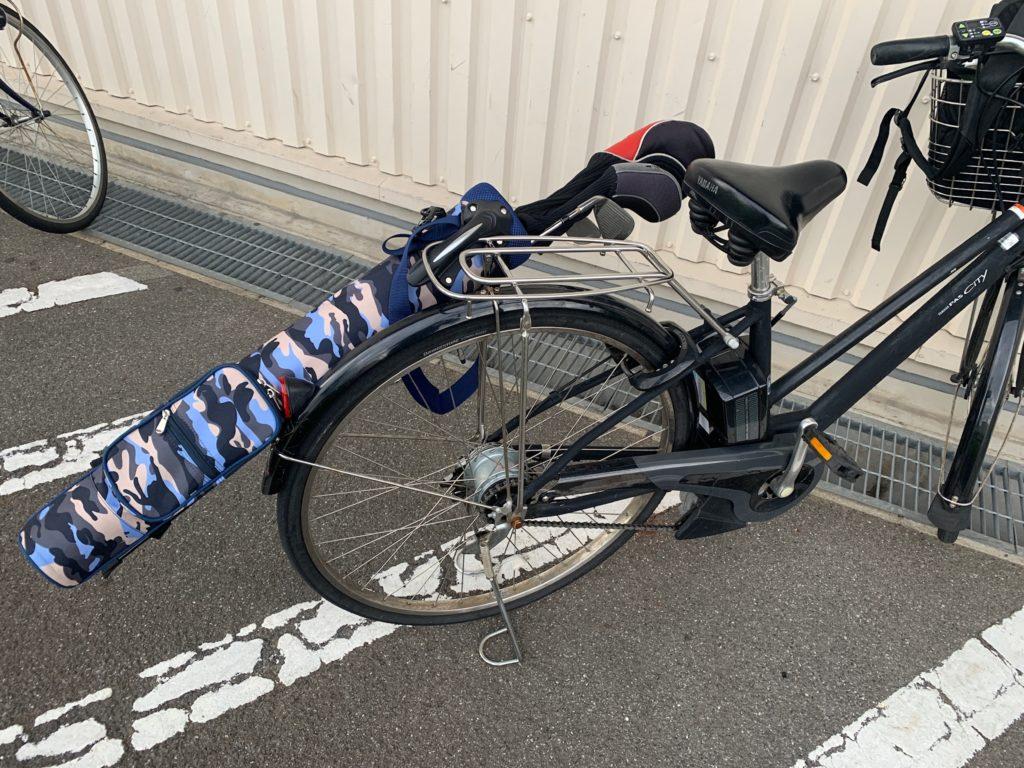 ゴルフ ハーフバッグ 自転車