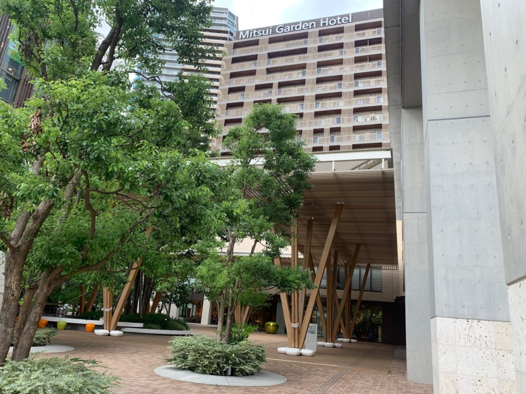 三井ガーデンホテル柏の葉 外観