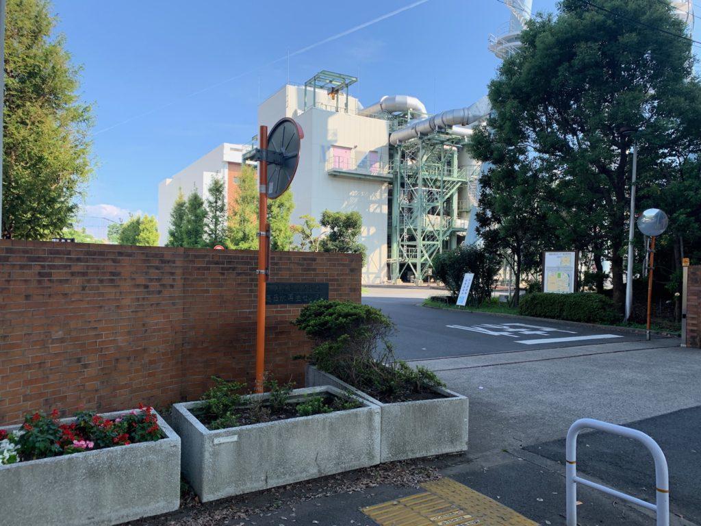 葛西水再生センター 外観