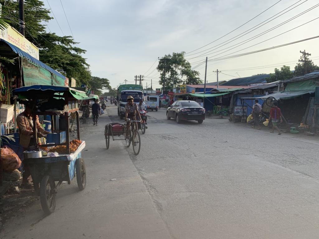ヤンゴン ラインタヤ郡区