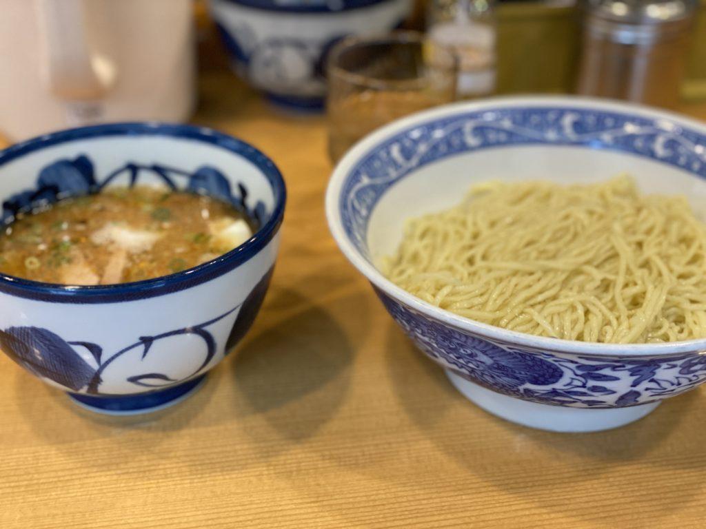 青葉 中野本店 つけ麺 細麺