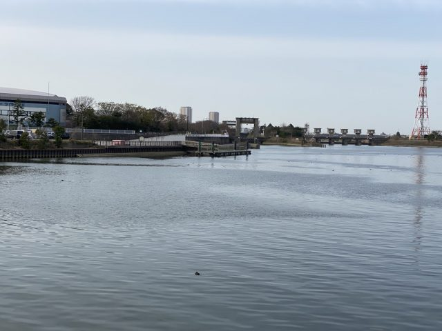 江戸川区水閘門
