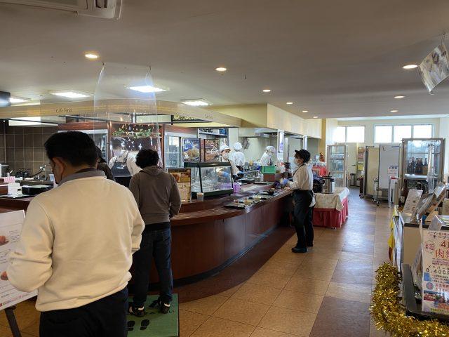 ノーザンカントリークラブ 錦ヶ原ゴルフ場 レストラン