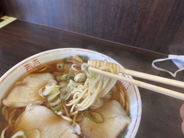 まるかいラーメン 麺