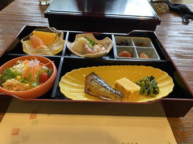 奥羽山荘 朝食