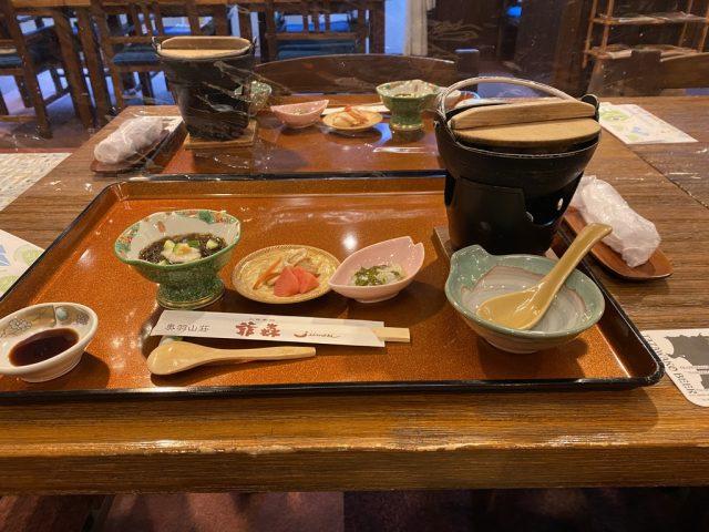 奥羽山荘夕食