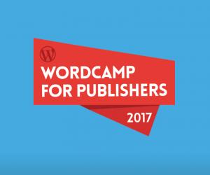 WordCamp for Publishers Logo