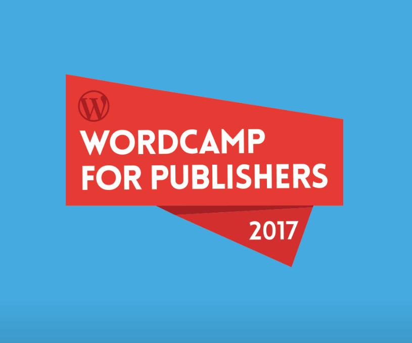 WordCamp for Publishers Logo