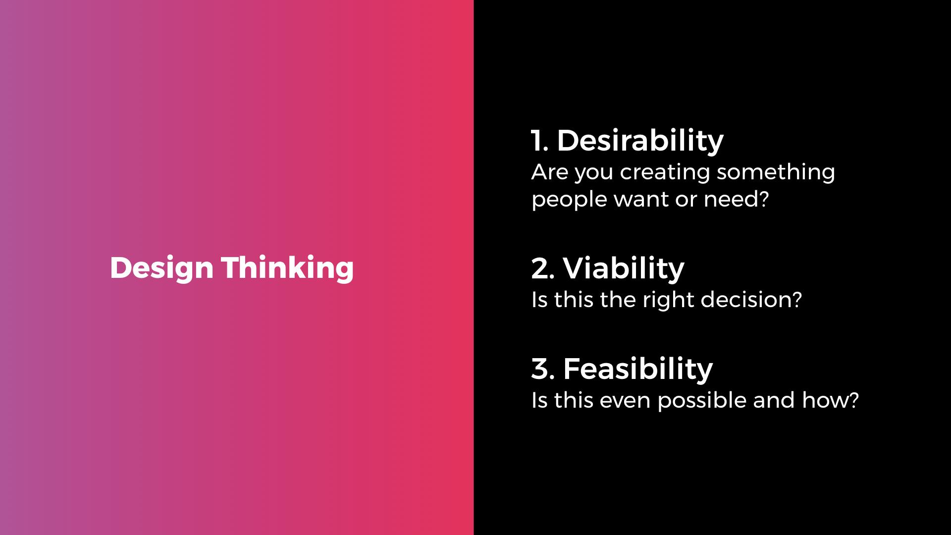 Design Thinking Serverless
