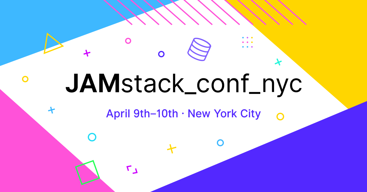 Promo image for Jam Stack Conference