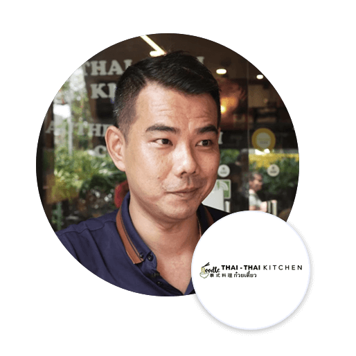 Founder of noodles thai thai kitchen Keith Teo testimony